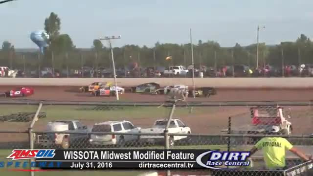 AMSOIL Speedway 7/31/16 WISSOTA Midwest Modified Races
