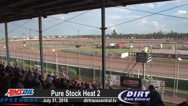 Amsoil Speedway 7/31/16 Pure Stock Races