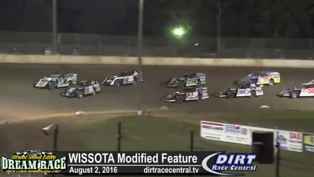 Rice Lake Speedway 8/2/16 WISSOTA Modified Races