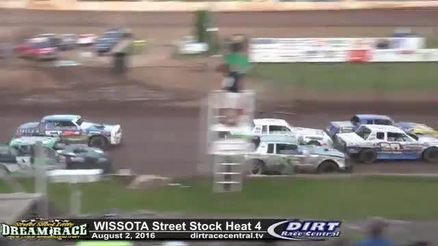 Rice Lake Speedway 8/2/16 WISSOTA Street Stock Heat Races