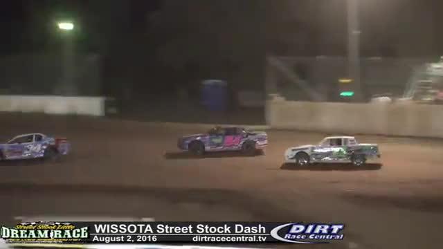 Rice Lake Speedway 8/2/16 WISSOTA Street Stock Dash