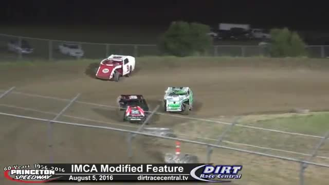 Princeton Speedway 8/5/16 IMCA Modified Feature Race