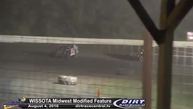 KRA Speedway 8/4/16 WISSOTA Midwest Modified Feature Race