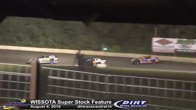 KRA Speedway 8/4/16 WISSOTA Super Stock Feature Race