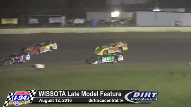 I-94 Speedway 8/12/16 WISSOTA Late Model Feature Race