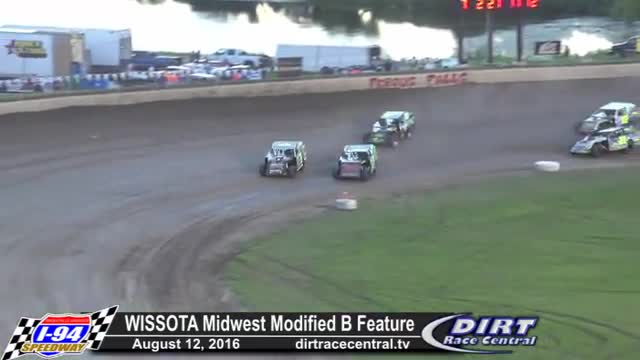 I-94 Speedway 8/12/16 WISSOTA Midwest Modified Races