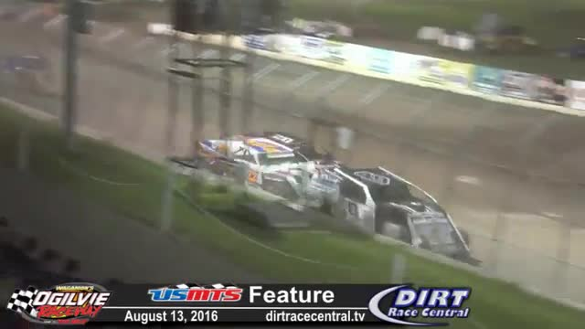 Ogilvie Raceway 8/13/16 USMTS Modified Races