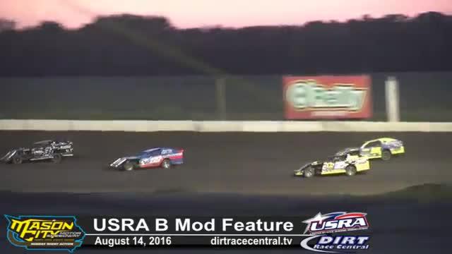 Mason City Motor Speedway USRA B Mod Races