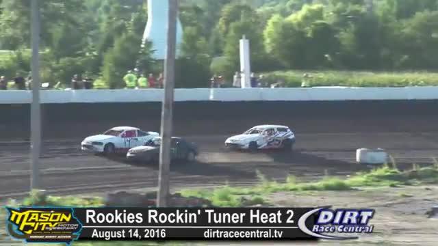 Mason City Motor Speedway 8/14/16 Rookies Rockin' Tuner Races