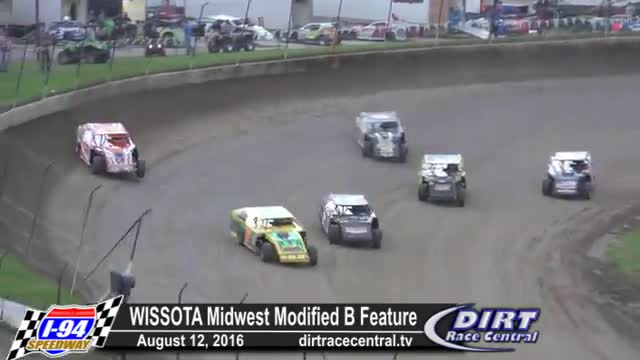 I-94 Speedway 8/18/16 WISSOTA Midwest Modified Races