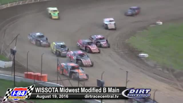 I-94 Speedway 8/19/16 WISSOTA Midwest Modified Races
