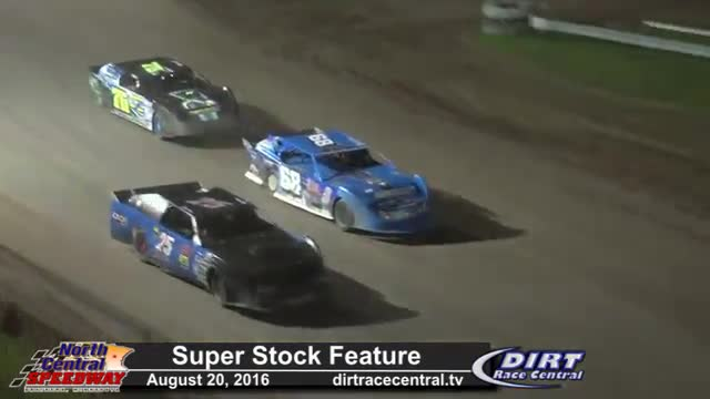 North Central Speedway 8/20/16 Super Stock Races