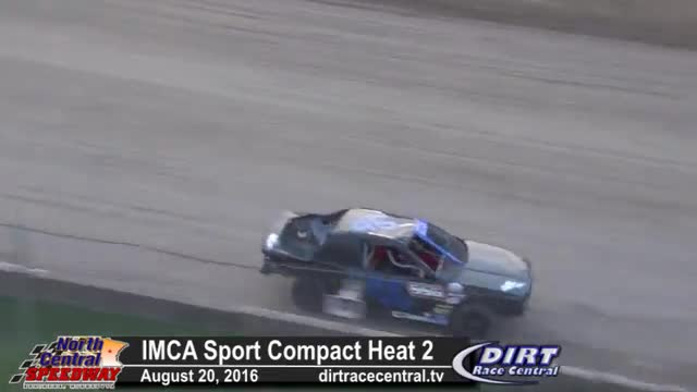 North Central Speedway 8/20/16 IMCA Sport Compact Races