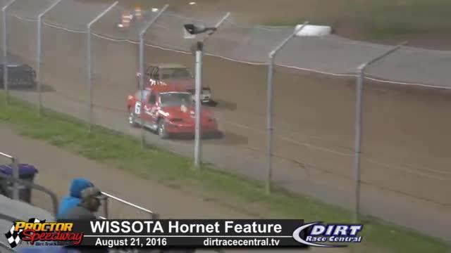 Proctor Speedway 8/21/16 WISSOTA Hornet Races