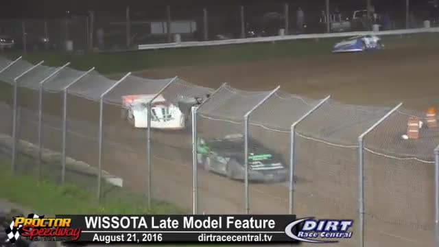 Proctor Speedway 8/21/16 WISSOTA Late Model Races