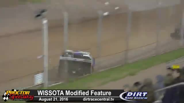 Proctor Speedway 8/21/16 WISSOTA Modified Races