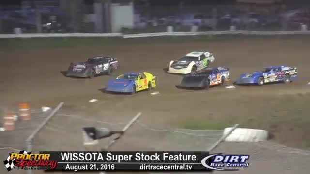 Proctor Speedway 8/21/16 WISSOTA Super Stock Races