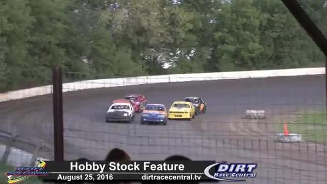 KRA Speedway 8/25/16 Hobby Stock Races