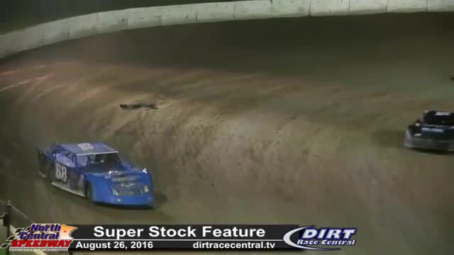North Central Speedway 8/26/16 Super Stock Races