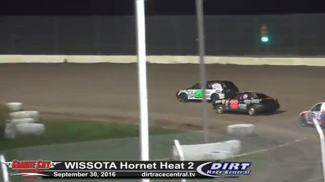 Granite City Speedway 9/30/16 WISSOTA Hornet Races