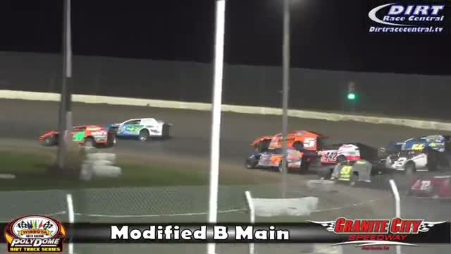 Granite City Speedway 10/15/16 WISSOTA Modified Races