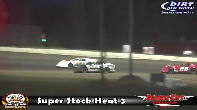 Granite City Speedway 10/15/16 WISSOTA Super Stock Races