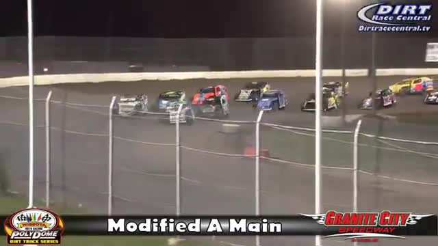 Granite City Speedway 10/16/16 WISSOTA Modified Races