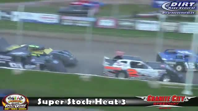 Granite City Speedway 10/16/16 WISSOTA Super Stock Races