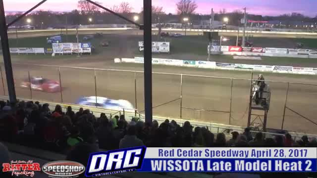 Red Cedar Speedway 4/28/17 WISSOTA Late Model Races