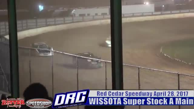 Red Cedar Speedway 4/28/17 WISSOTA Super Stock Races
