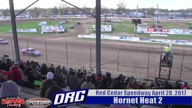 Red Cedar Speedway 4/28/17 Hornet Races