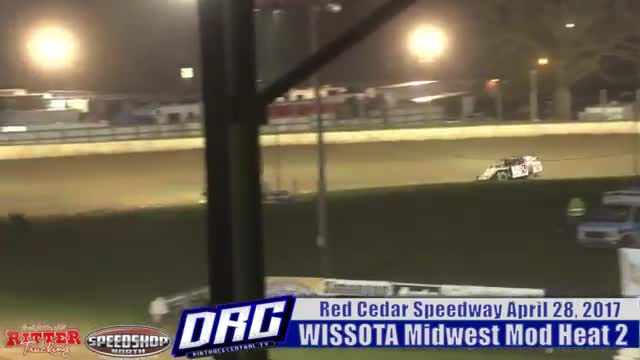Red Cedar Speedway 4/28/17 WISSOTA Midwest Modified Races