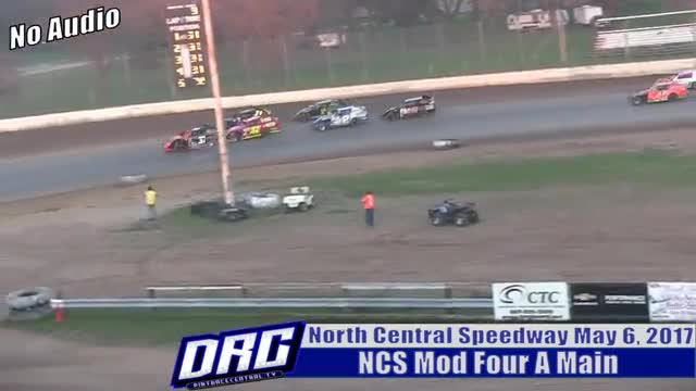 North Central Speedway 5/6/17 NCS Mod Four A Main