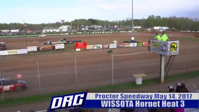 Proctor Speedway 5/14/17 WISSOTA Hornet Races
