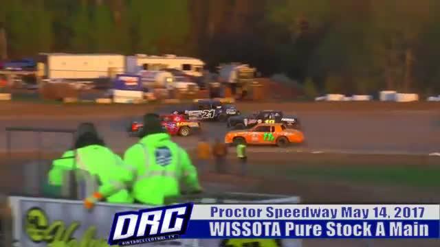 Proctor Speedway 5/14/17 WISSOTA Pure Stock Races