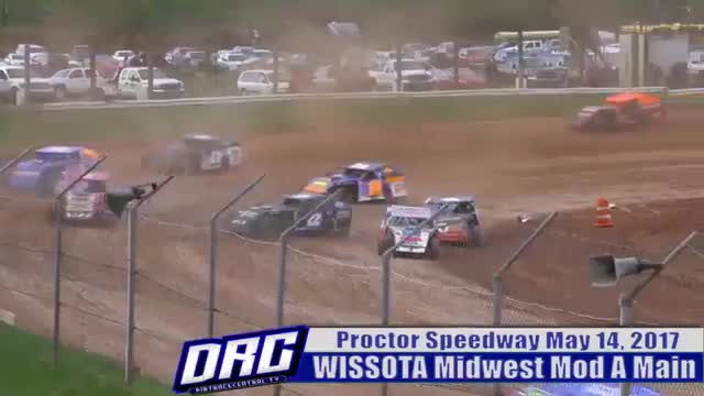 Proctor Speedway 5/14/17 WISSOTA Midwest Modified Races