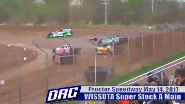 Proctor Speedwy 5/14/17 WISSOTA Super Stock Races