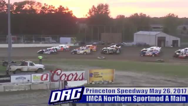 Princeton Speedway 5/26/17 IMCA Northern Sportmod Races