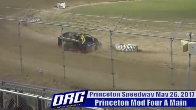 Princeton Speedway 5/26/17 Mod Four Races