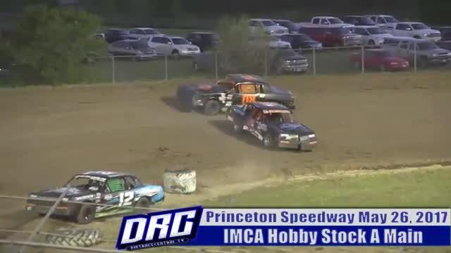 Princeton Speedway 5/26/17 IMCA Hobby Stock Races