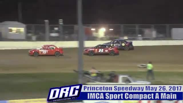 Princeton Speedway 5/26/17 IMCA Sport Compact Races