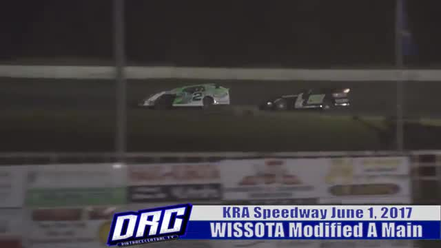 KRA Speedway 6/1/17 WISSOTA Modified Races