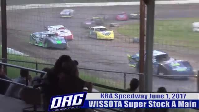 KRA Speedway 6/1/17 WISSOTA Super Stock Races