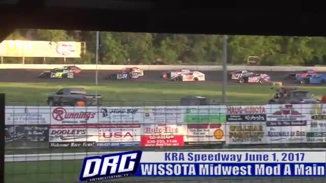 KRA Speedway 6/1/17 WISSOTA Midwest Modified Races