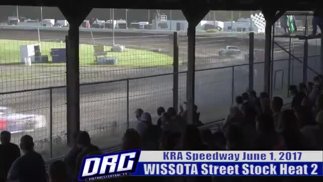 KRA Speedway 6/1/17 WISSOTA Street Stock Races