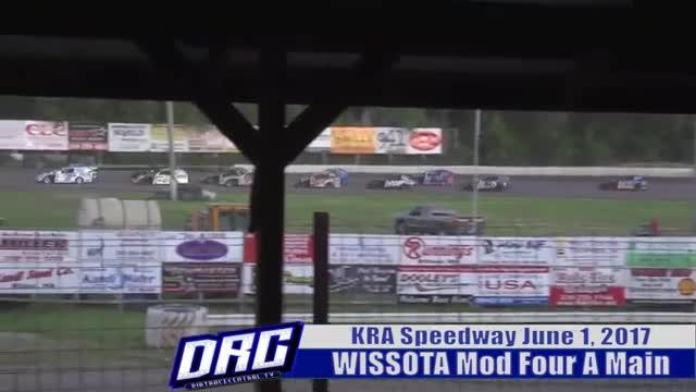 KRA Speedway 6/1/17 WISSOTA Mod Four Races