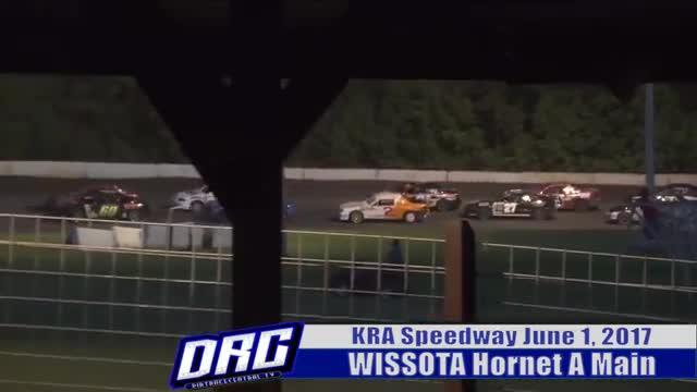 KRA Speedway 6/1/17 WISSOTA Hornet Race