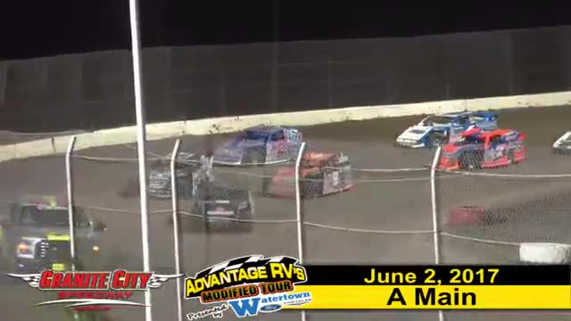Granite City Speedway 6/2/17 Advantage RV Mod Tour Races