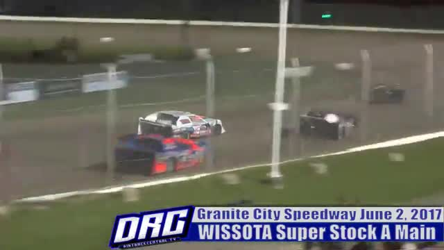 Granite City Speedway 6/2/17 WISSOTA Super Stock Races