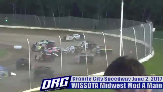 Granite City Spedway 6/2/17 WISSOTA Midwest Modified Races